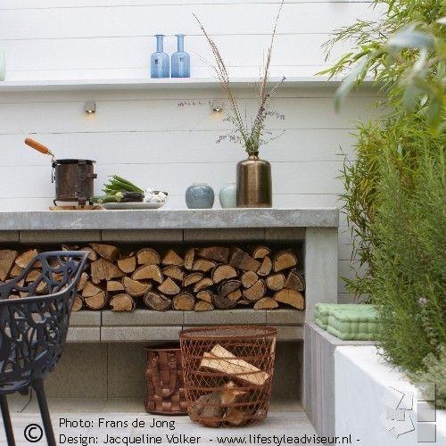 Vtwonen tuin jacqueline volker til haven pinterest g rdhave - Moderne buitentuin ...