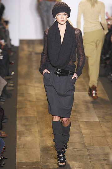 Photos of the runway show or presentation for Michael Kors Fall 2010 RTW Shows in New York.