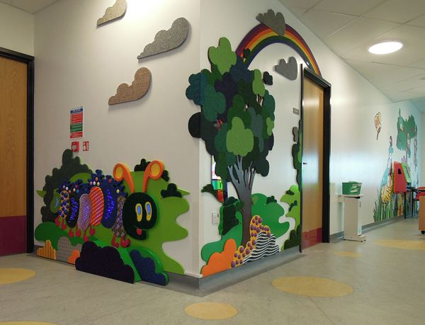 Classroom Design For Visually Impaired ~ Tactile mural by mike ayres design what a great way to