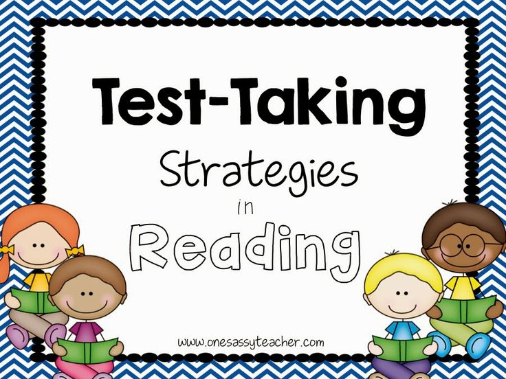 Test Preparation - Reading Strategies Posters! Hold your students accountable AND build confidence.