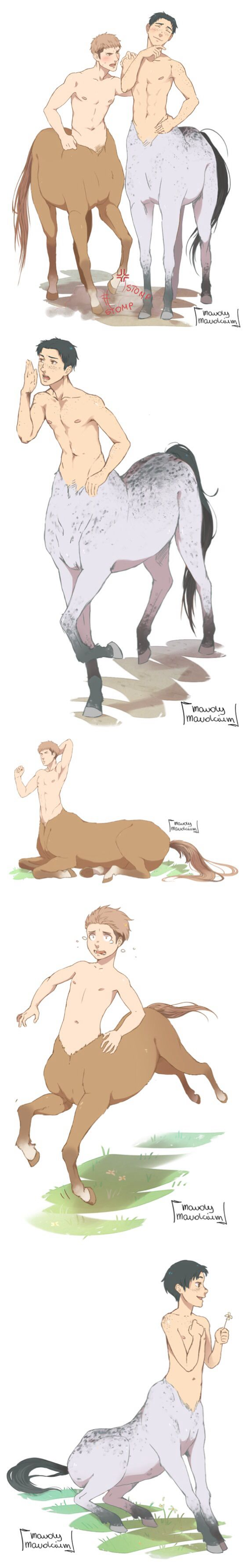 JeanMarco centaurs jean is more of a horse face now XD