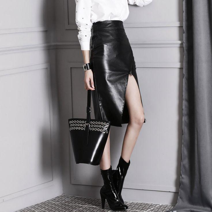SK1235 five Alpenblick zip coating Skirt