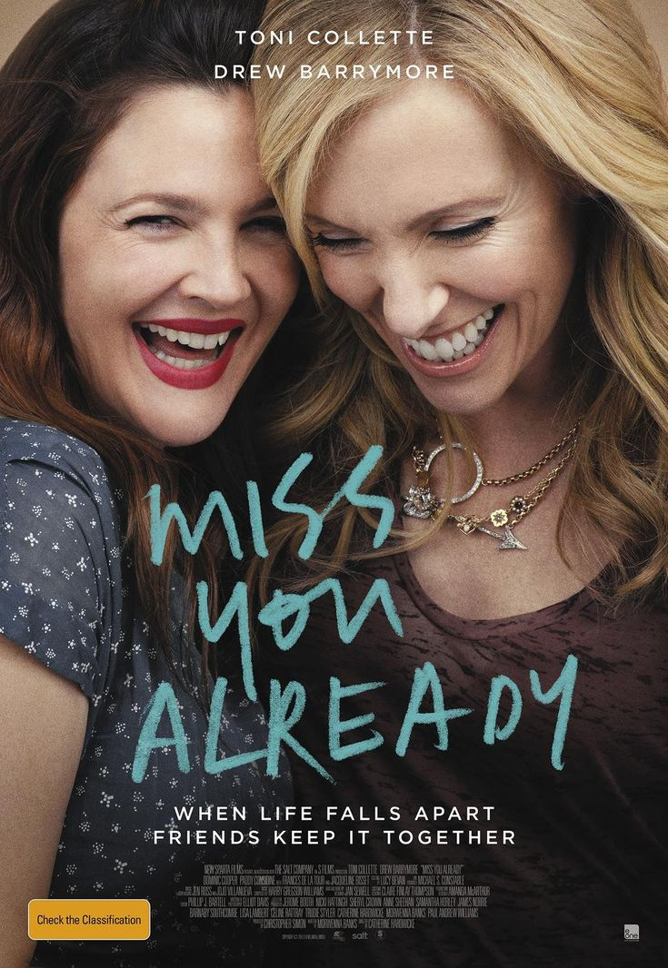 Trailer made me cry. I heart Toni Collette and Drew Barrymore, so this will definitely be a must-see.