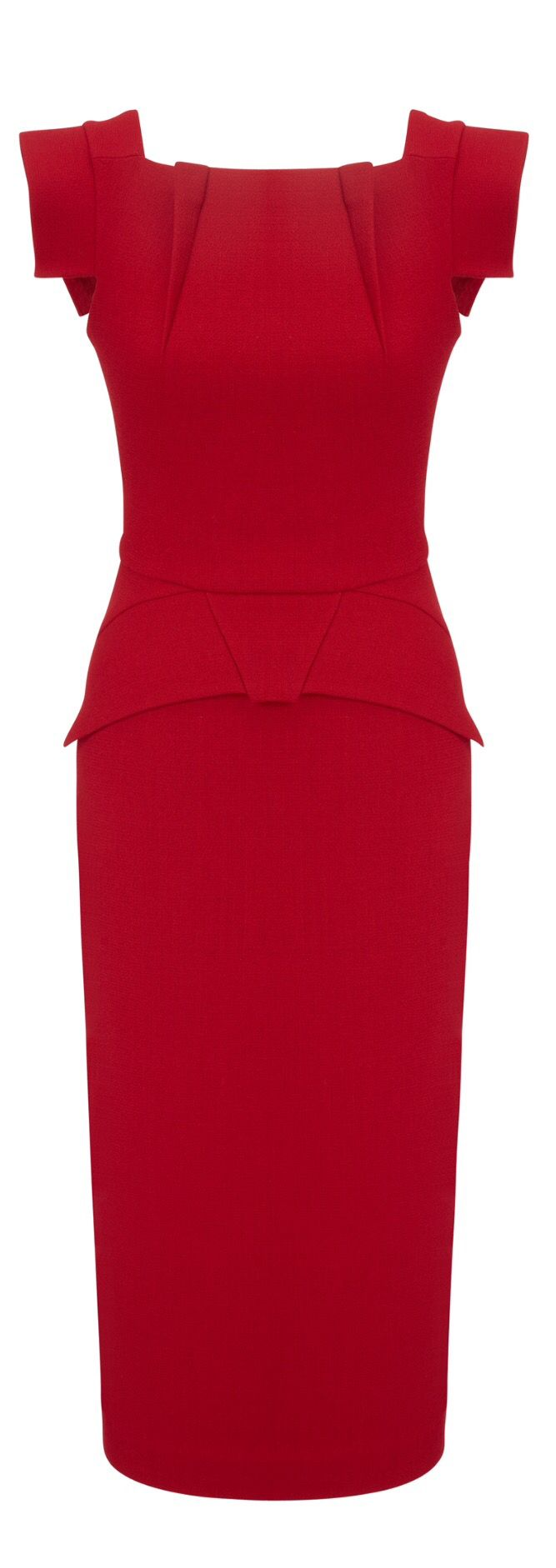 Roland Mouret.... YES TO THE DRESS!!!