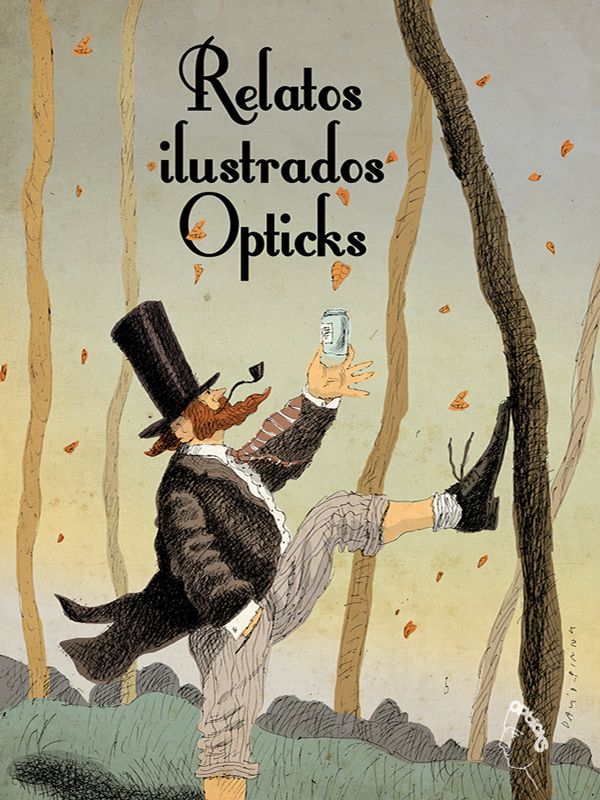 opticks cubierta Relatos Ilustrados Opticks