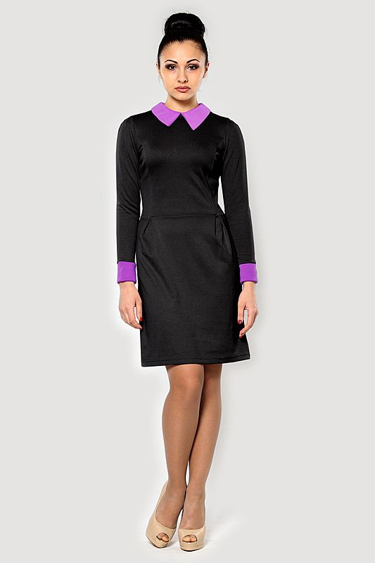 Выбираем фиолетовое платье (английская мода, английский стиль)