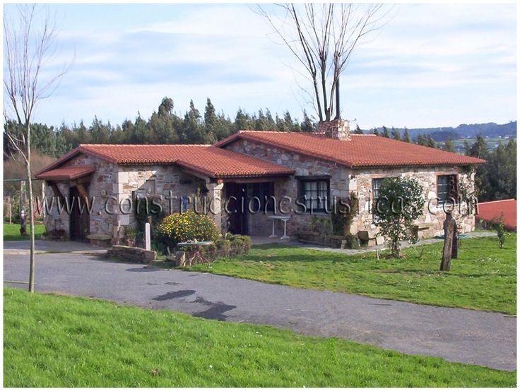 San juan de mi o casas con porche pinterest casas - Casas con porche ...