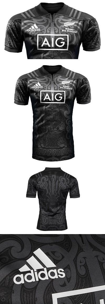 Rugby 21563: *** 2017 - 2018 Maori All Blacks Rugby Jersey *** -> BUY IT NOW ONLY: $50 on eBay!