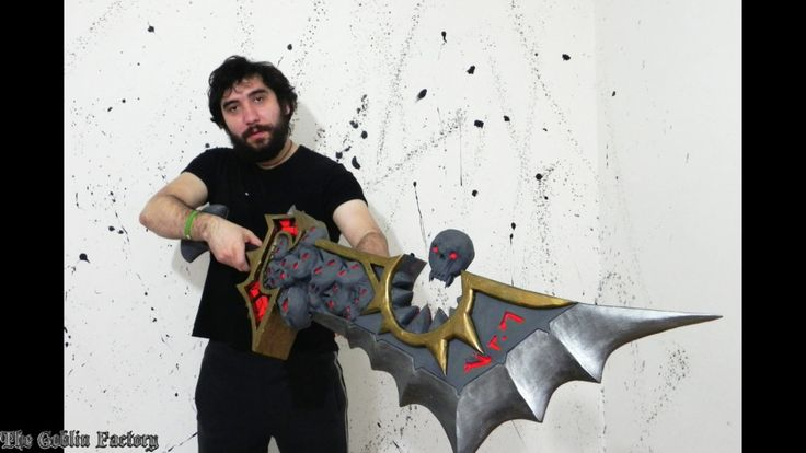 Corrupted Ashbringer World of Warcraft cosplay prop