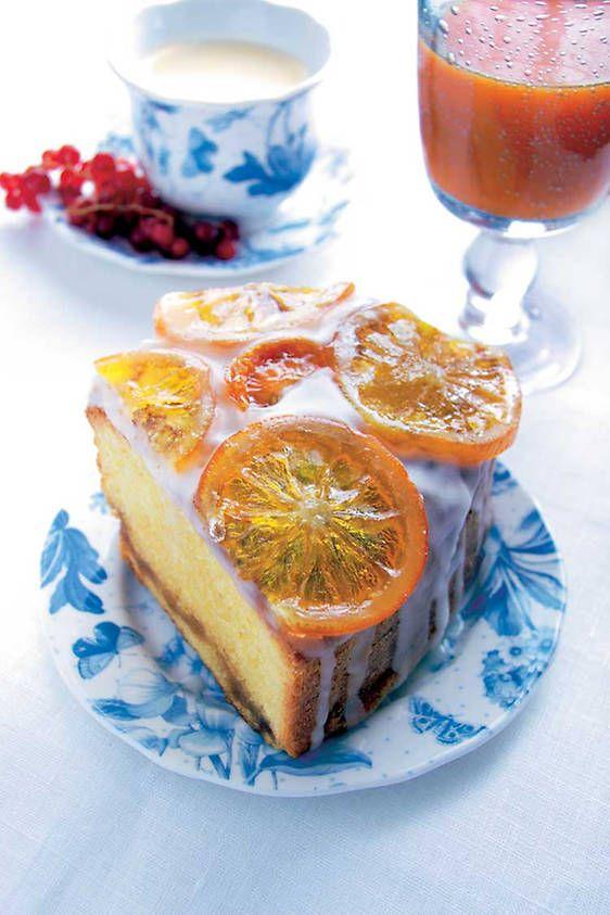 Bizcocho de naranja glaseado - Foto 2