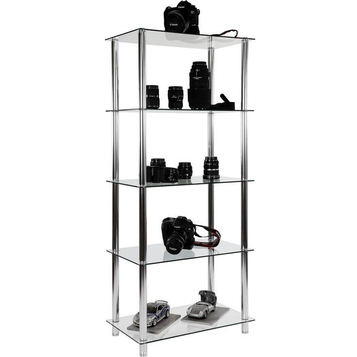 Http://www.ebay.it/itm/mobile angolare in vetro scaffale libreria ...