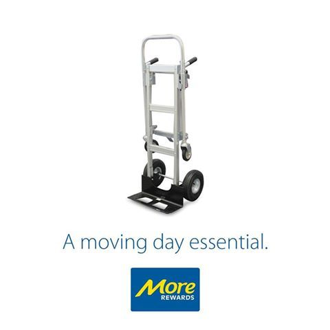 Converts from hand truck to platform in seconds.  Learn more: https://www.morerewards.ca/…/brico-heavy-duty-convertible-a…