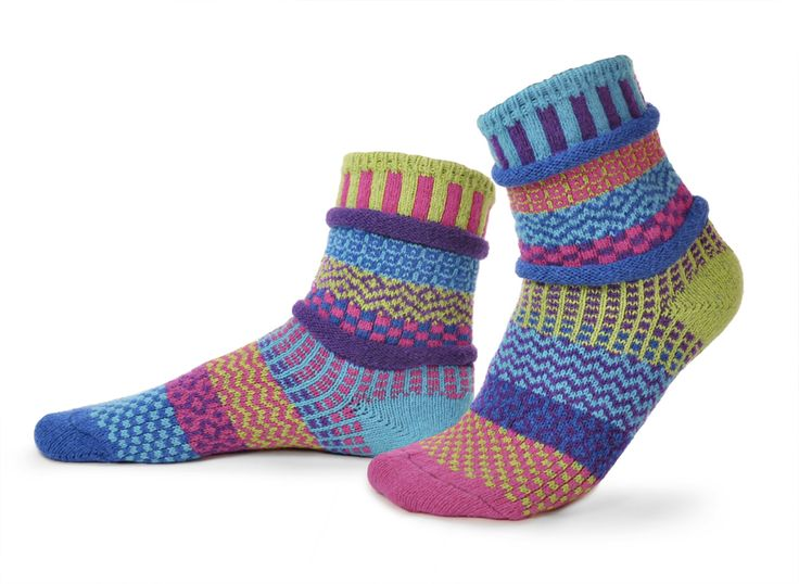 Seriously Silly Socks - Bluebell design odd-socks by Solmate | Made from recycled cotton. , £12.50 (http://www.seriouslysillysocks.com/bluebell-design-odd-socks-by-solmate-made-from-recycled-cotton/)