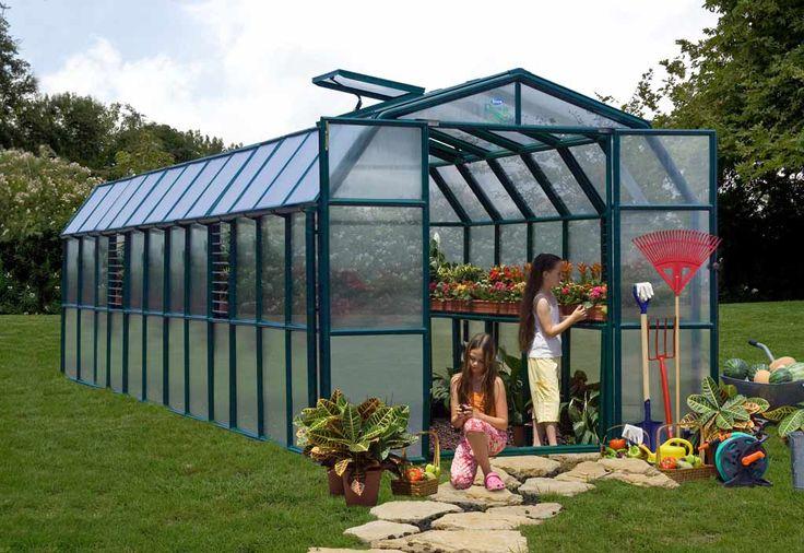 Serre de Jardin Polycarbonate Rion Cezanne (755x259x239)