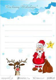 List do Świętego Mikołaja - wzory listów do Świętego Mikołaja | Baby online