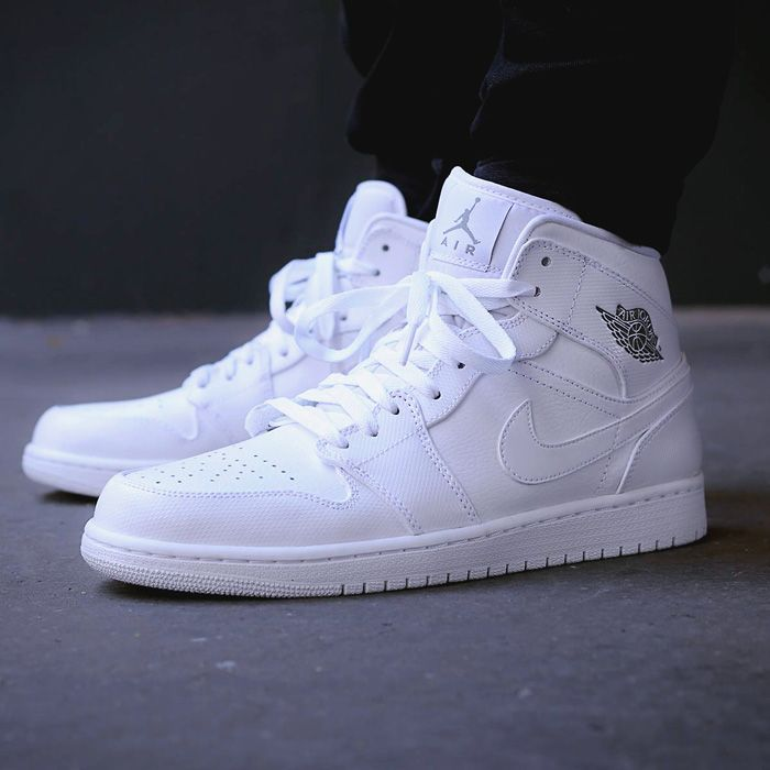 That is one clean sneaker. #airjordan · All White JordansJordans Shoes For  MenNike Jordans WomenSneakers ...
