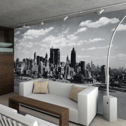 1Wall Carta da parati Manhattan Skyline Lovepromo