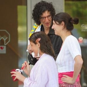 Howard Stern with daughters Emily and Ashley | Howard ...