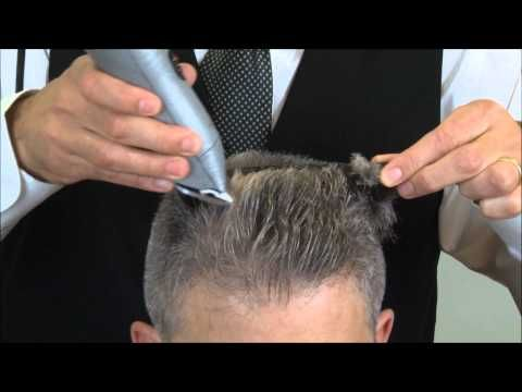 How To Cut A Flat Top Haircut - YouTube