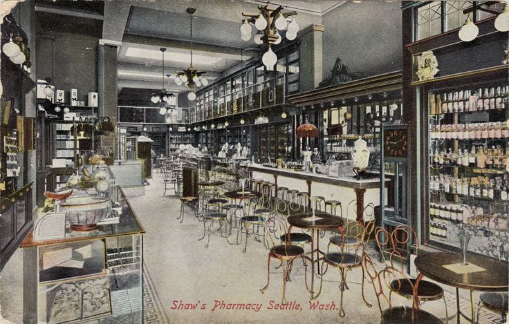 vintage pharmacy vancouver bc - Google Search