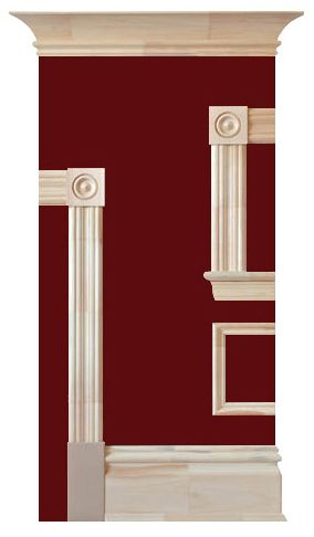 Victorian crown moulding | Home: Living Room