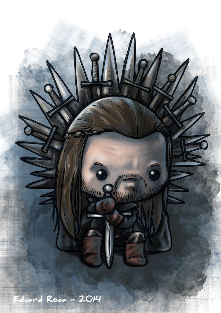 Ned Stark en el Trono de Hierro