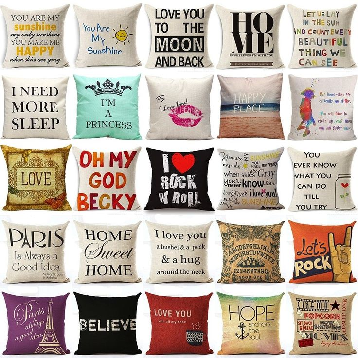 Various Cushion Covers
