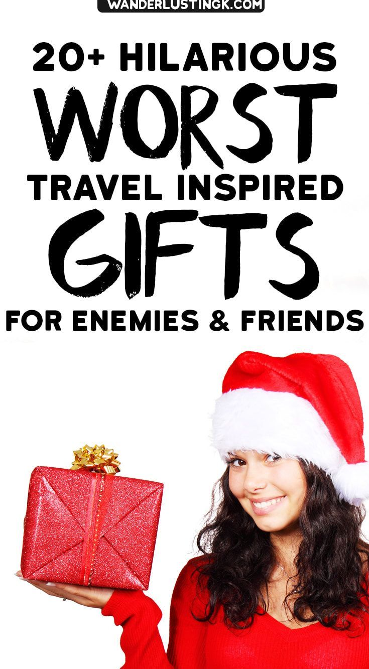 Holiday worst gifts