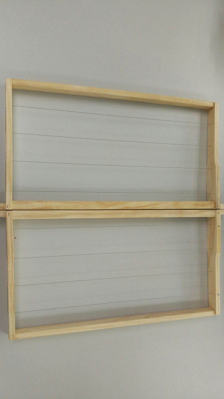 Timber frames assembled with wire