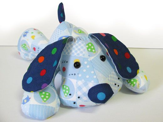 pinterest soft toy patterns to sew | Patterns » Puppy Dog Pete Soft Toy Sewing Pattern INSTANT DOWNLOAD