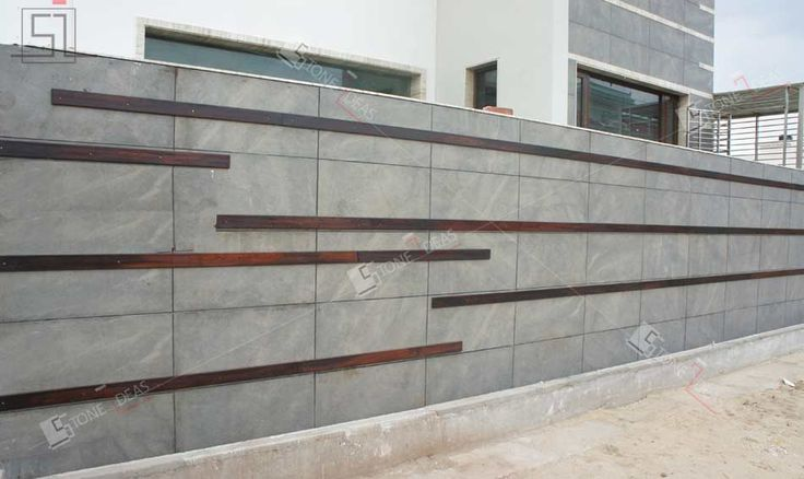 Natural Stone Elevation Tiles : Best images about fence on pinterest modern houses