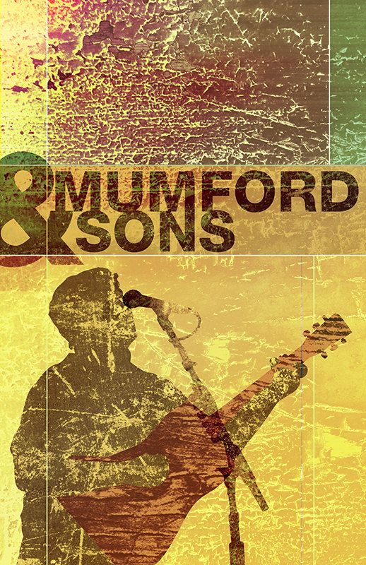 This is a unique and creative sign for the band Mumford & Sons. This would definitely catch my attention if I was driving along side the road. I would love to have a poster of this in my room. http://visualidsource.com