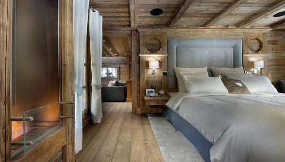 Luxury Chalet with Romantic Setting at Courchevel: Beautiful ...