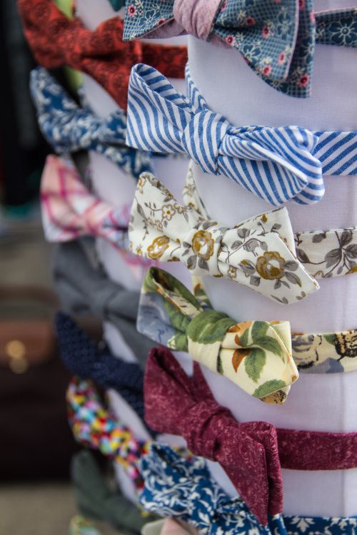 Our bowtie collection...