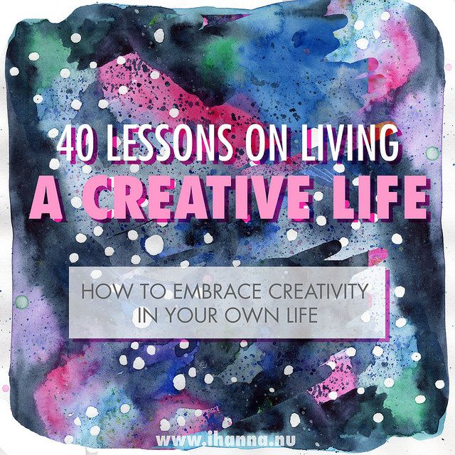 There is no right or wrong way to Live a Creative Life, right? But I have embraced it for years so I wanted to share a few tips on everyday creativity...