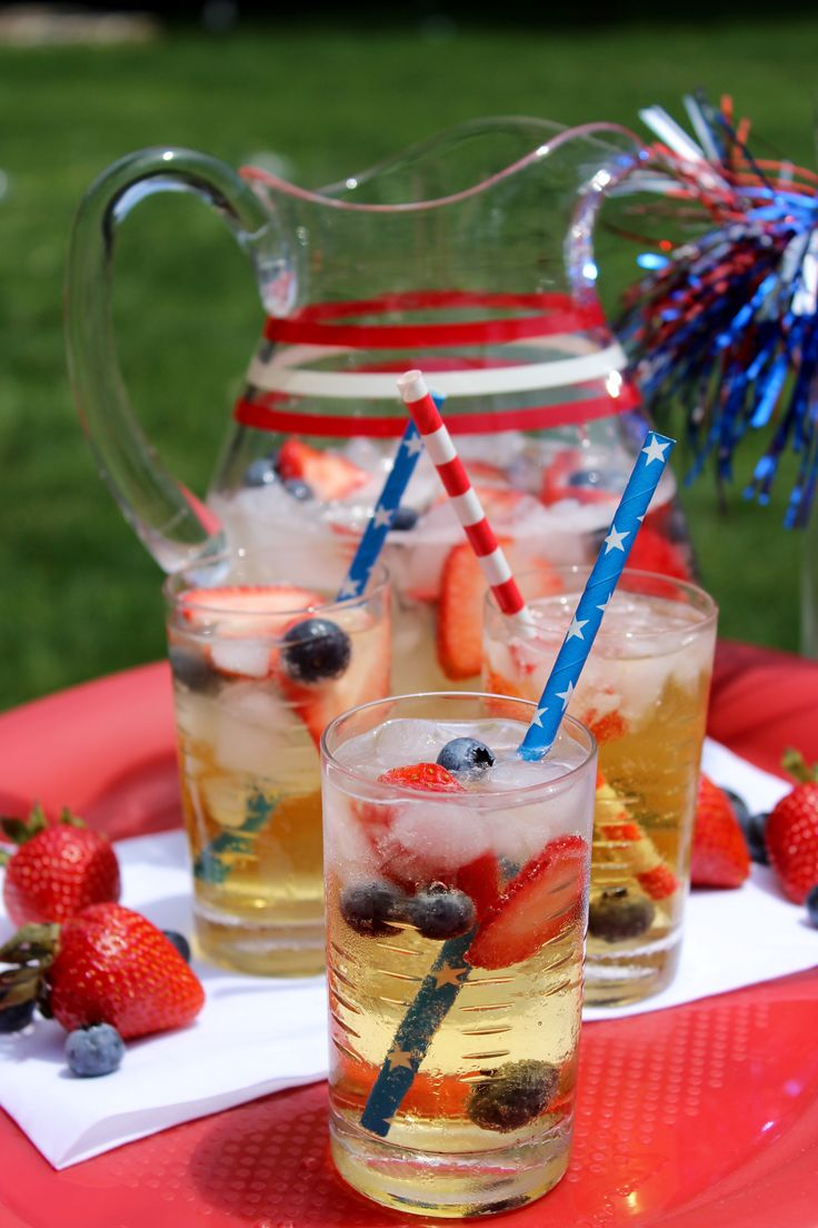 14 best fourth of july images on pinterest birthdays for Pitcher drink recipes for parties