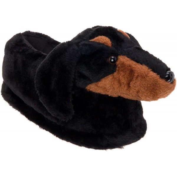 Women S Shoes Slippers Dachshund Slippers Plush Dog Slippers W