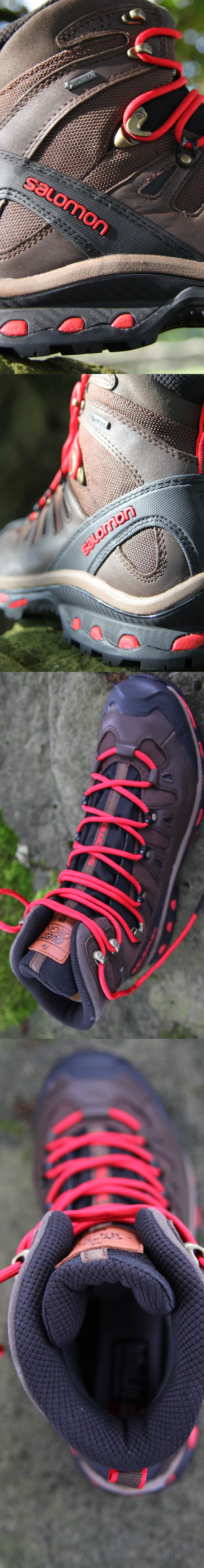 Salomon Men's Quest Origins GTX Hiking Boots - Sheer perfection in a walking boot - stunning design.  Comfortable as hell from the off - the Rolls Royce of walking boots - see the review for more info...