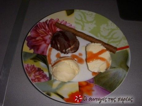 Λαχταριστό παγωτό σοκολάτα(με ζάχαρη καρύδας = 0 μονάδες)