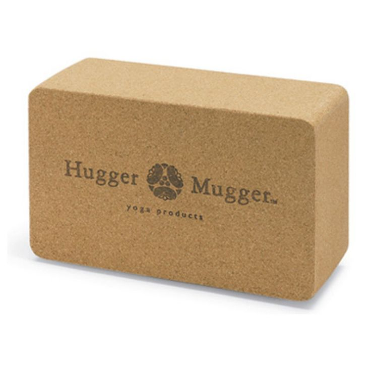 Hugger Mugger Cork Yoga Block - BL-CORK