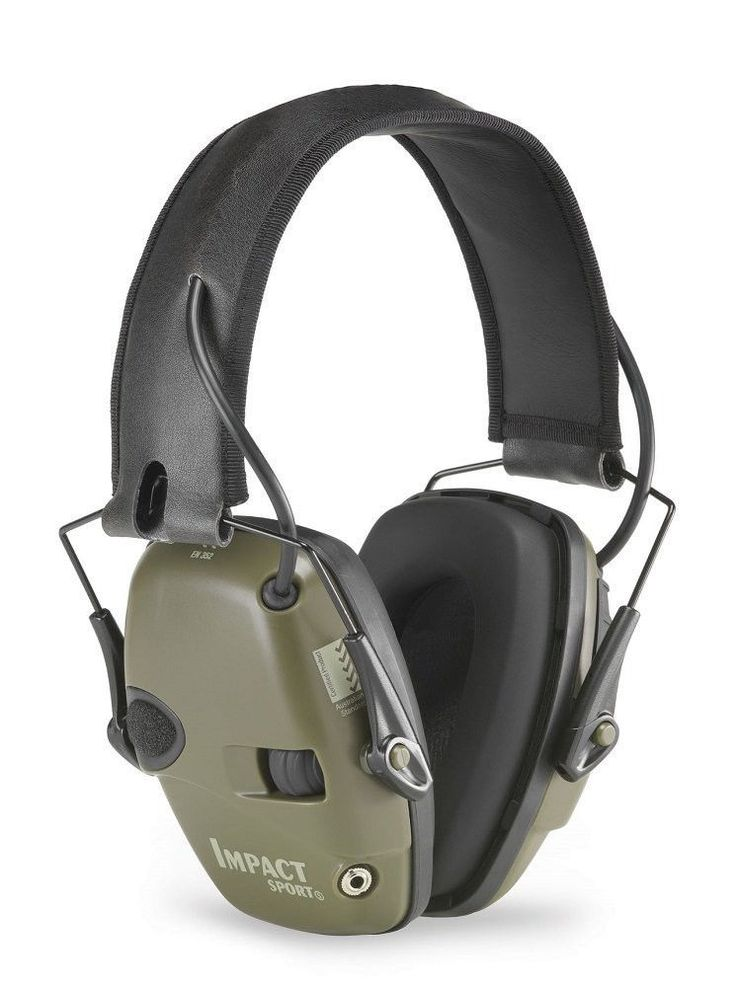 Electric Ear Muffs Hearing Protect Noise Earmuff Impact Sport Shooting Hunting #HowardLeight