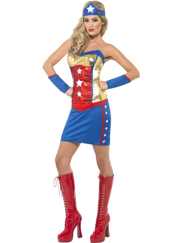 superhero dress | Sexy Super Hero Costume - Womens Sexy Superhero Dress  sc 1 st  Pinterest & 27 best carnaval images on Pinterest | Carnivals Costume ideas and ...