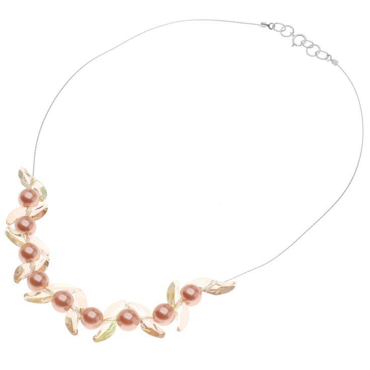 Tutorial - How to: Spring Sunrise Necklace | BeadaholiqueWaves Beads, Jewelry Tutorials, Beadaholique Gift, Necklaces Inspiration, Spring Sunrises, Beadaholique Features, Swarovski Waves, B Did Necklaces, Sunrises Necklaces