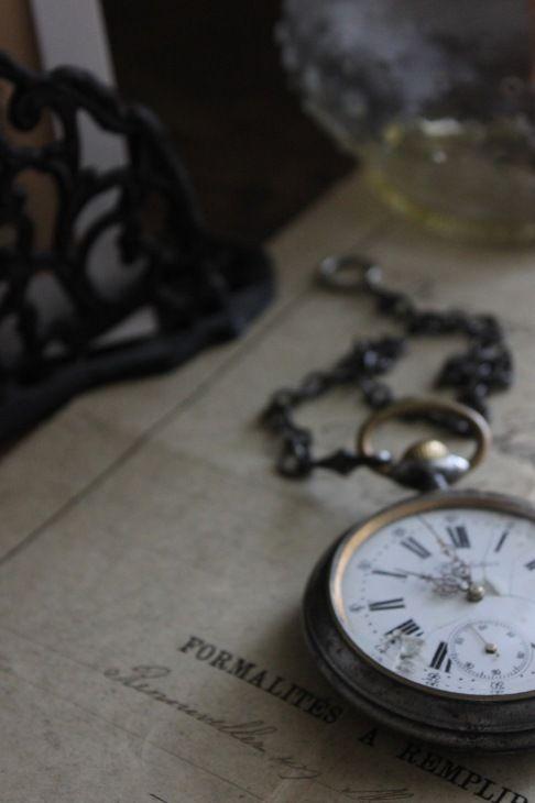 懐中時計 -美しい存在ー : sous les ombrages