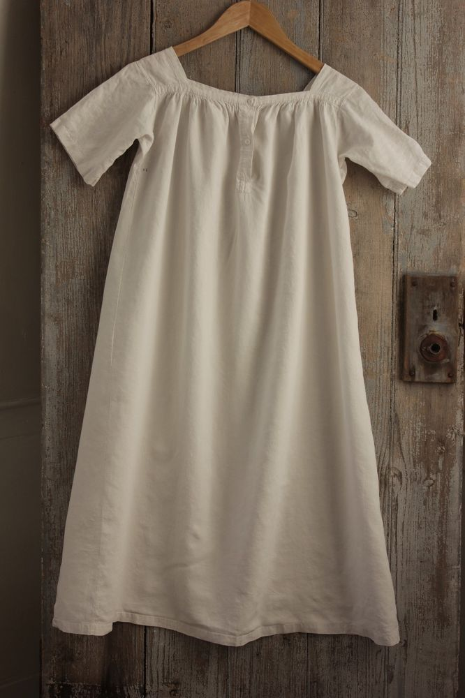 Linen French Chemise Nightdress Child S Nightgown Gown C