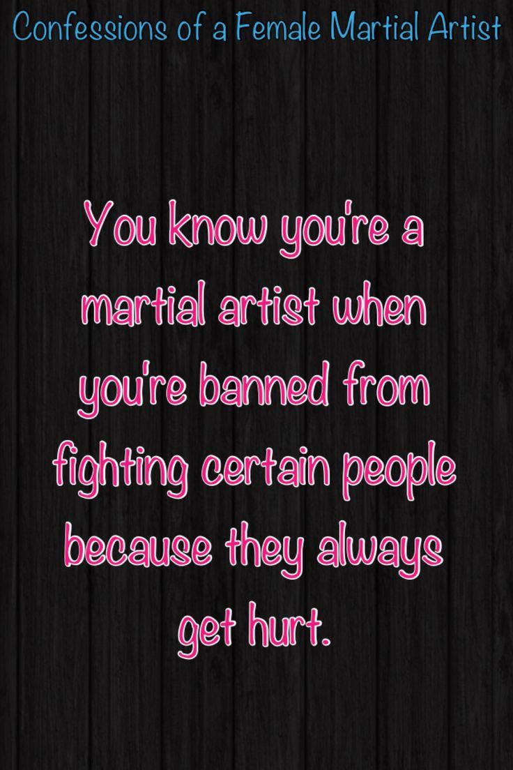 Martial arts confessions  Hurt feelings!!!