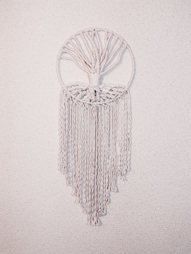 Macrame Wall Hanging(Tree of Life)