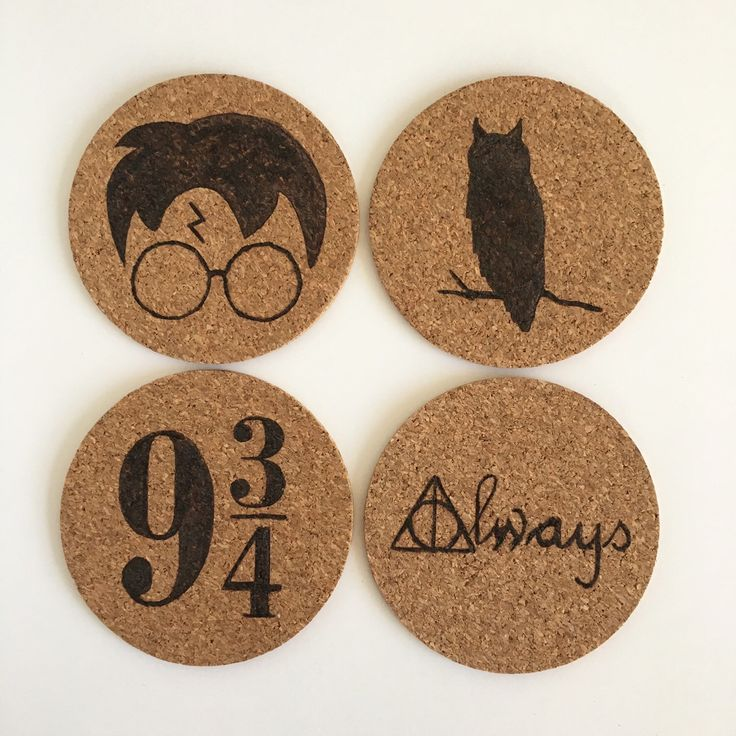Harry Potter and the Philosopher's Coasters by HuckleberryHaven on Etsy https://www.etsy.com/ca/listing/268675768/harry-potter-and-the-philosophers