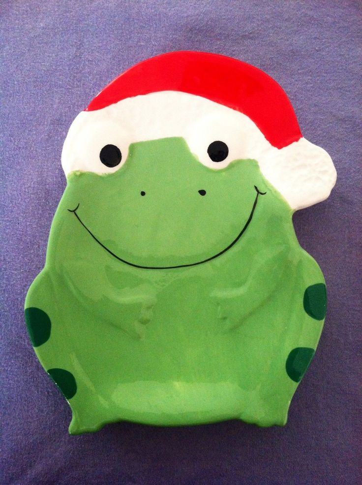 CHRISTMAS FROG SPOON REST - Boston Warehouse Trading Company, 2007, BRAND NEW!! | Collectibles, Animals, Amphibians & Reptiles | eBay!