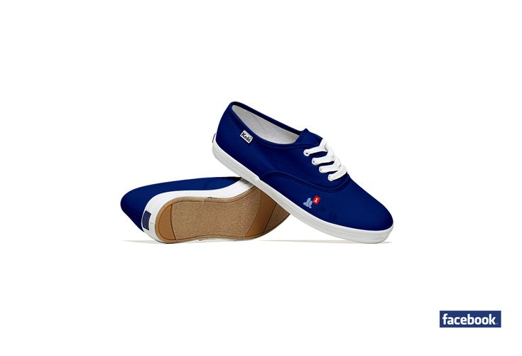 Social Media Shoes - Facebook  http://lumenbigott.com/social-media-shoes/